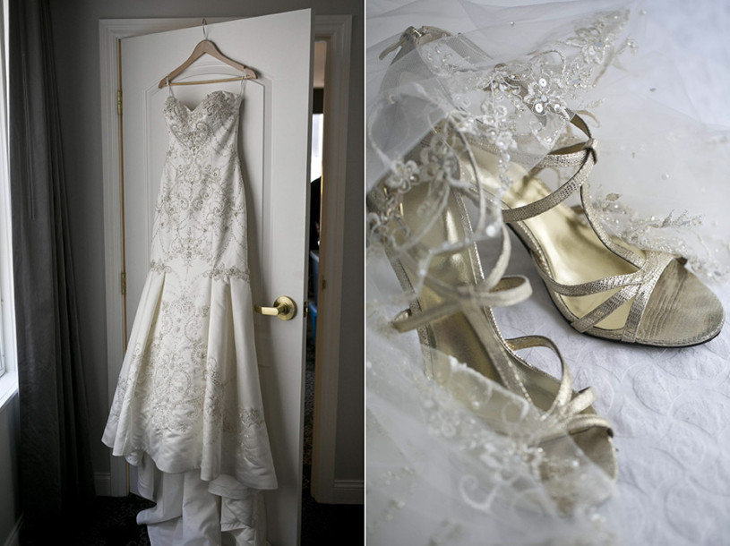 beaded-dress-hotel-benson-veil-winter-wedding
